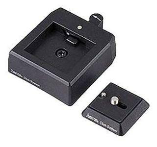 00004352 Schnellbefestigungs-System für Foto- und Videokameras 2-teilig