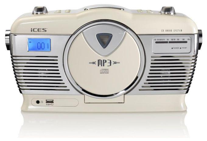 ISCD-33 CD Payer FM Radio