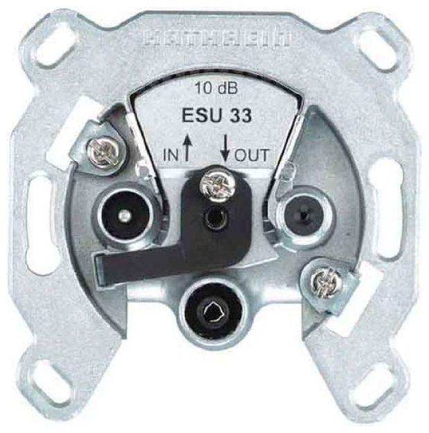 ESU 33 Durchschleifdose Einkabelsystem