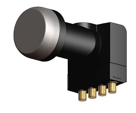 KR 4440 Prof II Universal-Quad-LNB mit Schalter 40mm