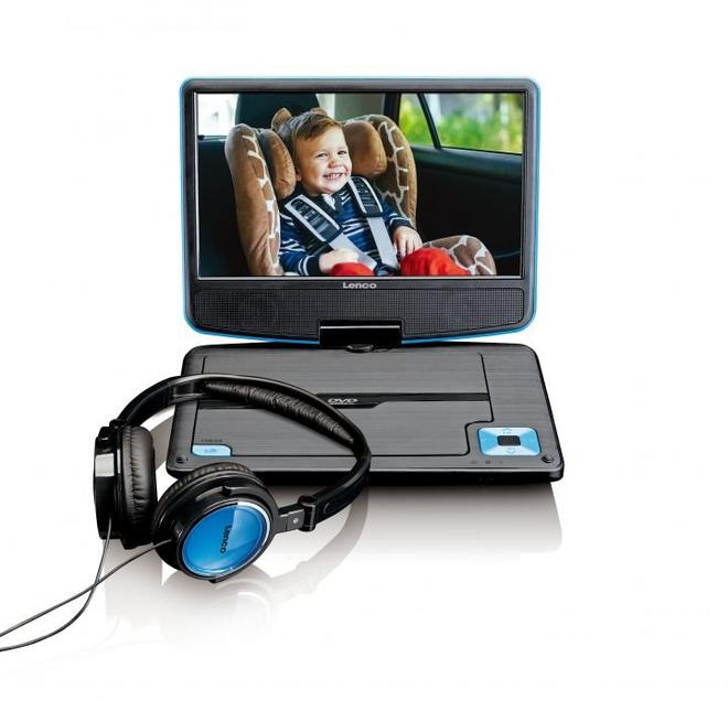 DVP-910 tragbarer DVD-Player 22,5cm/9'' USB 12V