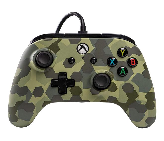 Wired Controller Deep Jungle Camo Analog / Digital Gamepad Xbox One kabelgebunden