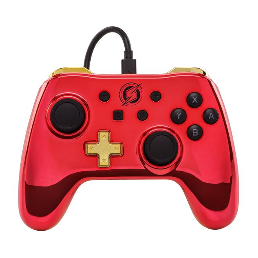 Nintendo Switch Wired Samus Controller Rot