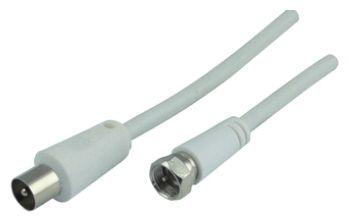 KVCK161 532 SAT/Antennen Adapterkabel, F-Stecker > IEC Stecker 1,5m