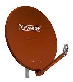 SPI910.2 Alu-Spiegel Sat-Antenne 88cm RAL8012