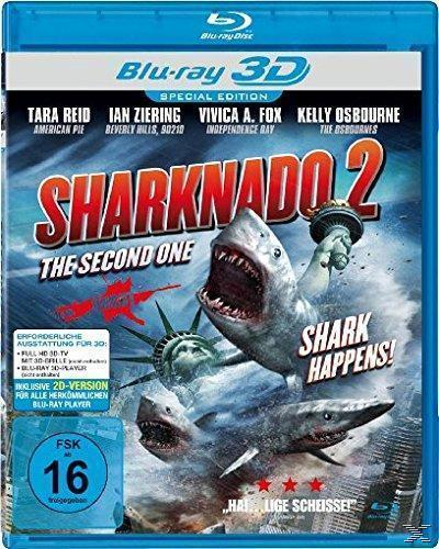 Sharknado 2 - The Second One (BLU-RAY 3D)