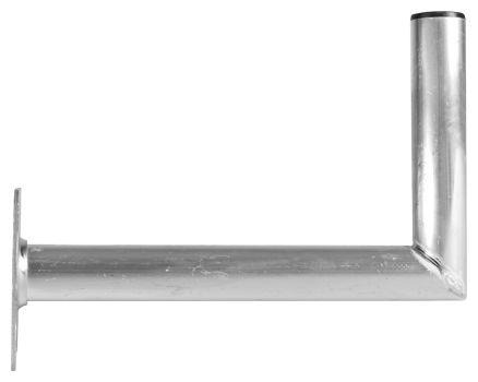 0000/1726 TECHNIPLUS 45 Alu-Wandhalter 45cm Wandabstand Silber