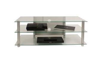 Netasa Klarglas TV Rack Low Board