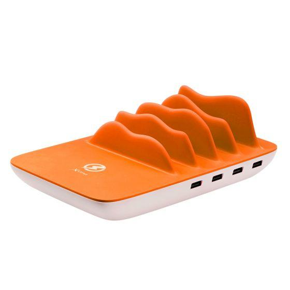 Ladegerät Family Charger Maxi, 4-Port USB + Wireless