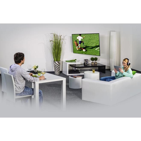 00108713 TV-Wandhalterung FULLMOTION 3Sterne 200x200 122cm 48 Zoll 2Arme