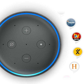 Echo Plus (2. Gen) Lautsprecher integrierter Smart Home-Hub