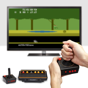 Atari Flashback 8HD Spielekonsole 120 eingebaute Spieleklassiker