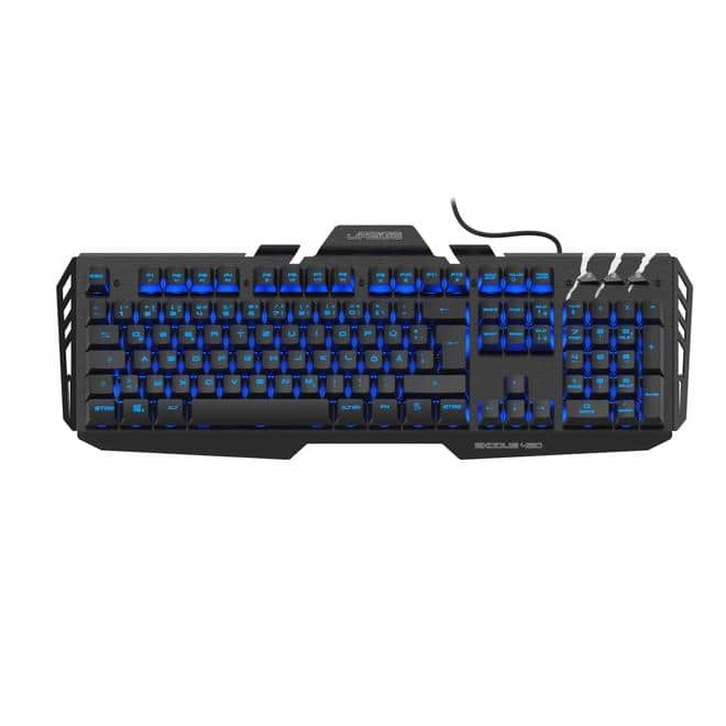 uRage Exodus 420 Metal RGB-LED Gaming Tastatur