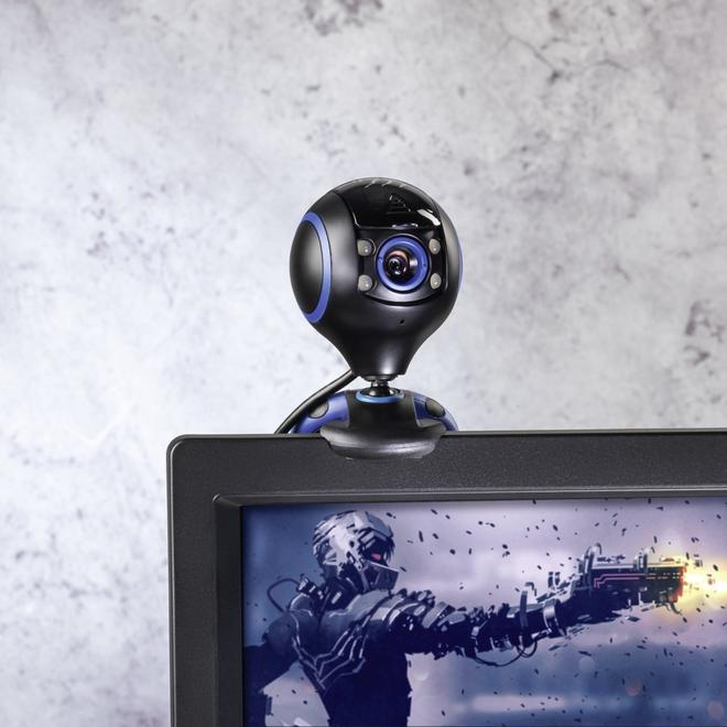 uRage WebCam HD Essential 1280 x 720 Pixel Webcam