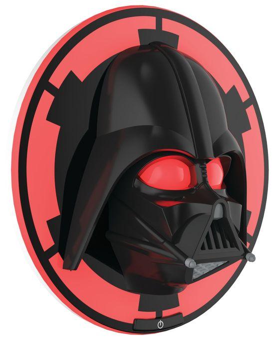 Darth Vader,schwarz, LED-Wandleuchte