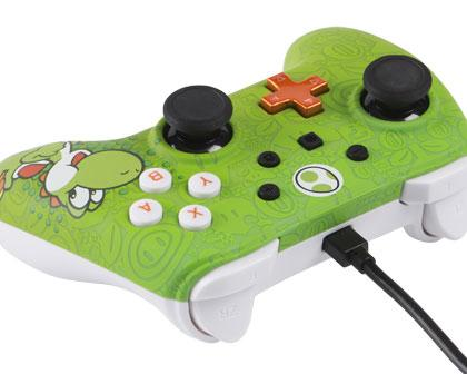 Wired Controller Yoshi Analog / Digital Gamepad Nintendo Switch kabelgebunden