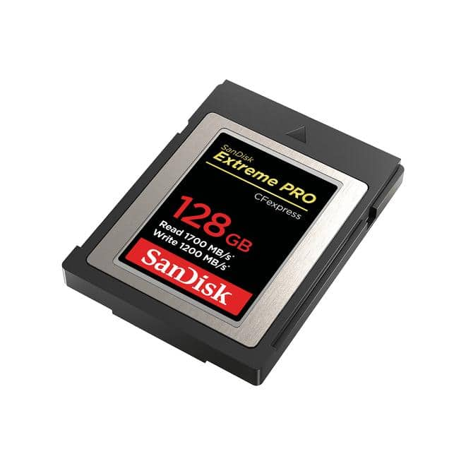 Compact Flash Card Extreme PRO CFexpress 128GB Typ