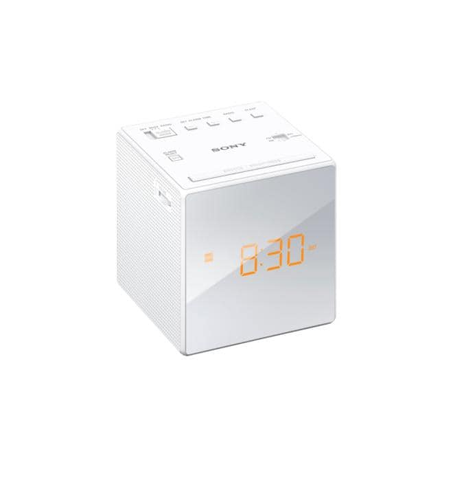 ICF-C1W Radiowecker UKW Sleep Funktion LED Display