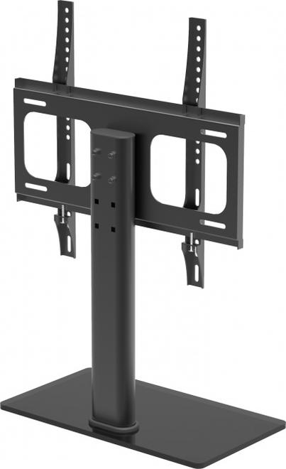 Netasa Schwarzglas TV Rack Low Board