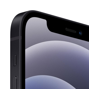 iPhone 12 5G Smartphone 15,5 cm (6.1 Zoll) 64 GB IOS 12 MP Dual Kamera Dual Sim (Schwarz)
