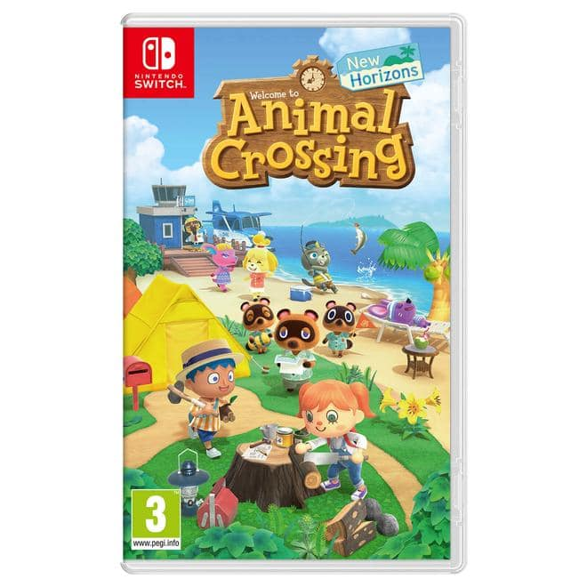 Switch Lite Animal Crossing: New Horizons Pack