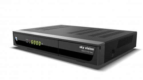 2000 HD Digitaler Satelliten Receiver mit Twin Tuner