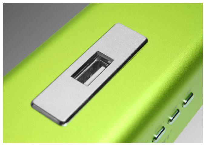 3433 MusicMan MA mobiler Lautsprecher MP3-Player FM-Radio USB