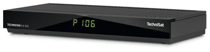 Technistar K4 ISIO Kabel-Receiver HDMI SCART LAN Schwarz