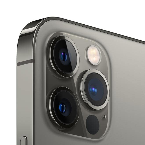 iPhone 12 Pro 5G Smartphone 15,5 cm (6.1 Zoll) 128 GB IOS 12 MP Dreifach Kamera Dual Sim (Graphit)