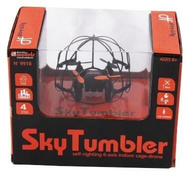 SkyTumbler Indoor Cage Quadrocopter Multicopter/Drohne Flugzeit: 8 min