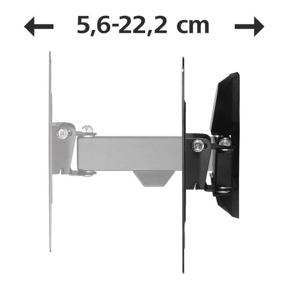 118100 Fullmotion 180° Wand Halterung bis 121,9 cm (48 Zoll) 20 kg