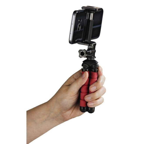 """00004611 Ministativ """"Flex"""" für Smartphone und GoPro 14cm"""