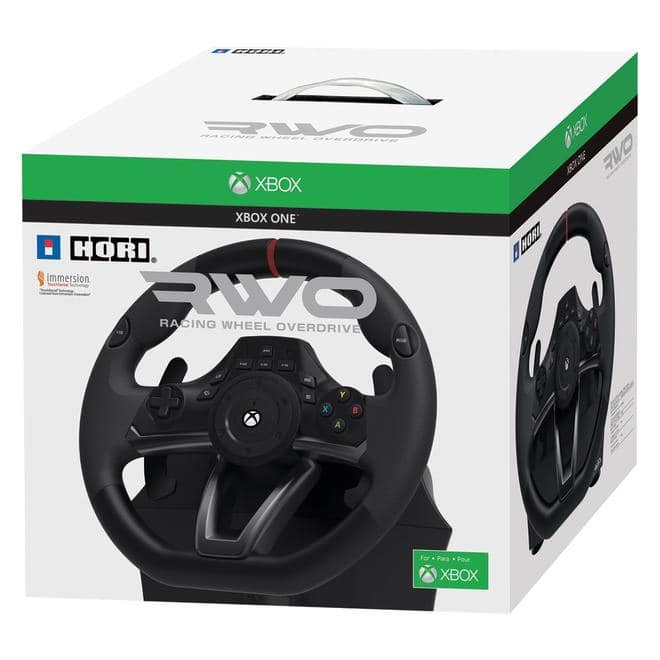 Racing Wheel Xone Lenkrad: Over Drive für XBox One