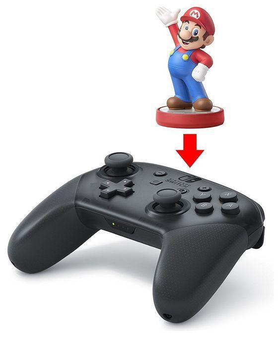 Pro Controller Analog / Digital Gamepad Nintendo Switch, PC kabellos