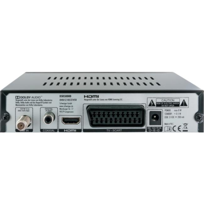 DSR500HD SAT-Receiver HDMI USB Schwarz