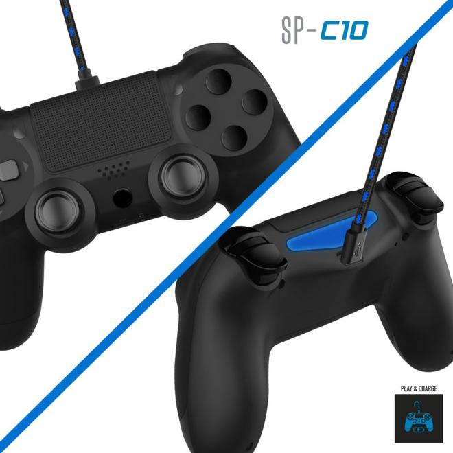 SP-C10 Gaming Controllerkabel PlayStation 4