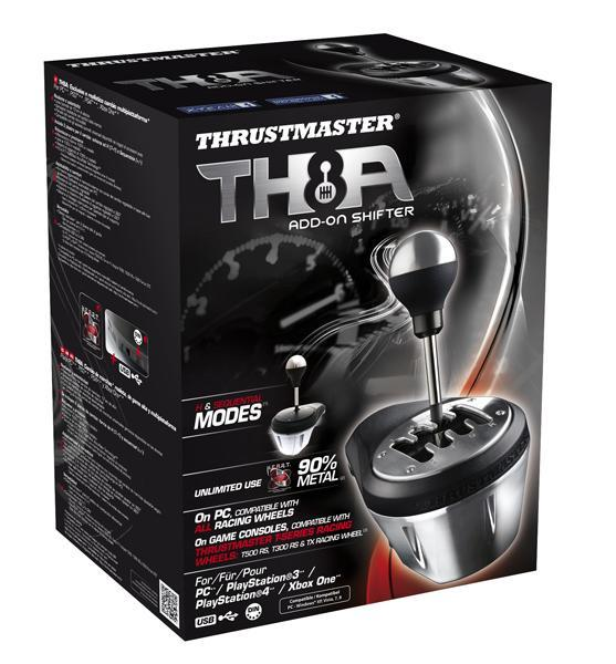 TH8A Add-on Shifter Schalthebel Analog Speziell PC, Playstation 3, PlayStation 4, Xbox One kabelgebunden