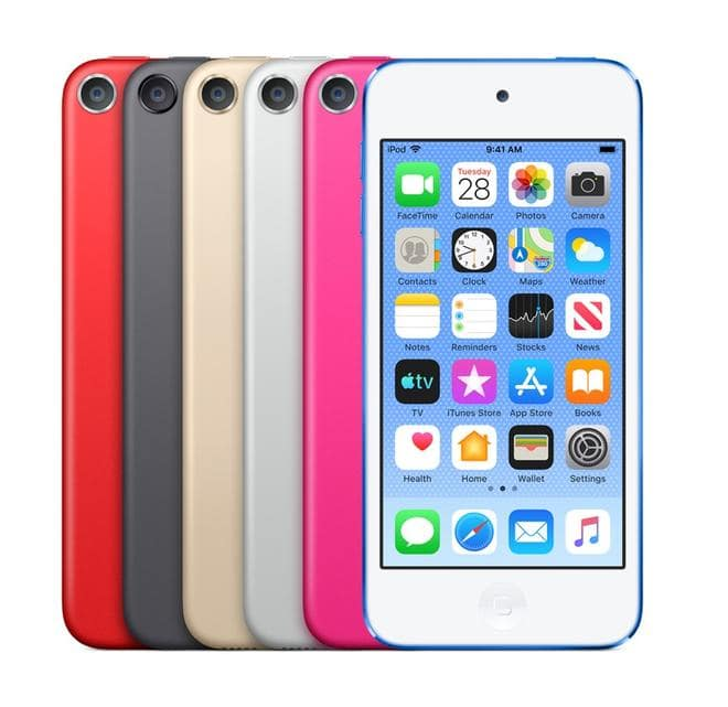 "iPod Touch MP3-Player 32GB 10,16cm/4"" Bluetooth Rot"
