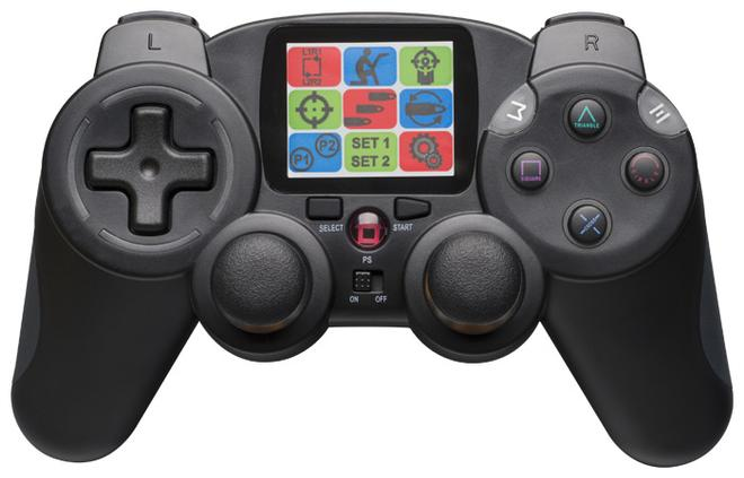 Interactive RF-Controller Quickfire 2 für PS3/PC kompatibel schwarz