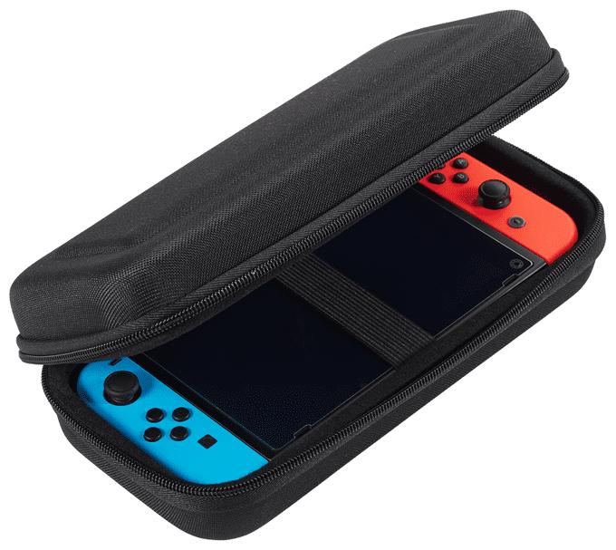 Interactive Nintendo Switch Tasche Classic XL Schwarz