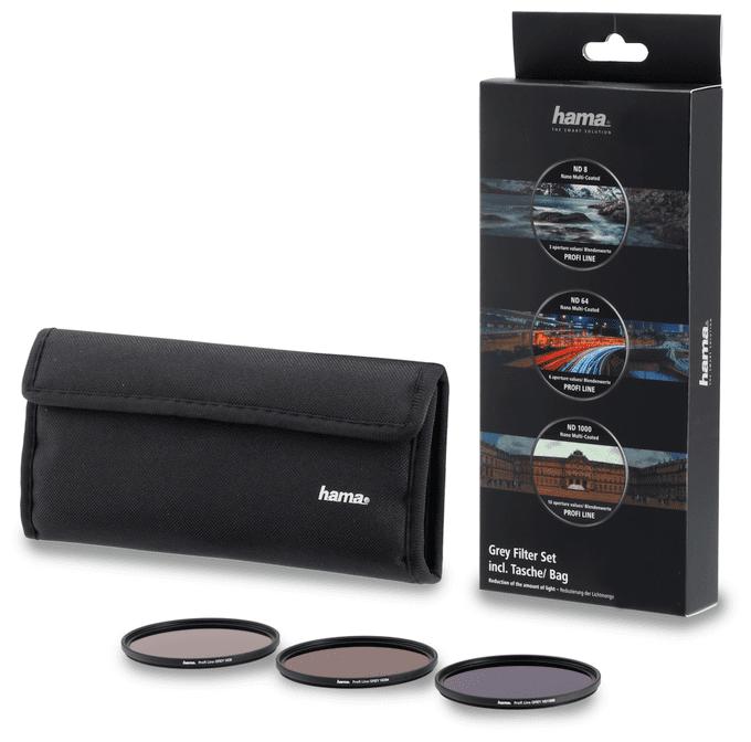 76901 Graufilter-Set ND8, ND64, ND1000, 67mm Schwarz