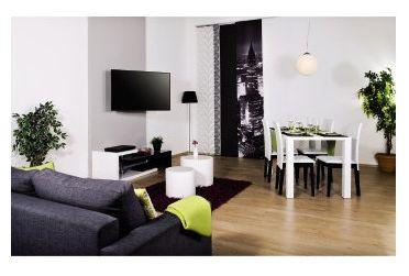 00118619 TV-Wandhalterung Fullmotion 180° schwenkbar an 3 Gelenken 32''-56'' bis 400x400