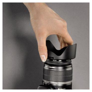 """00093677 Gegenlichtblende """"Snap"""" Objektivdeckel. Weitwinkel-Objektive 77 mm"""