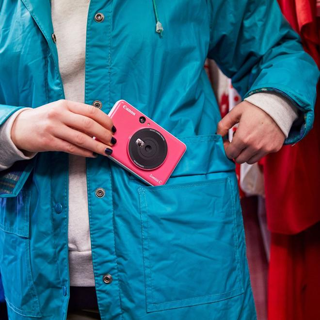 Zoemini C  50,8 x 76,2 mm Sofortbild Kamera (Pink)