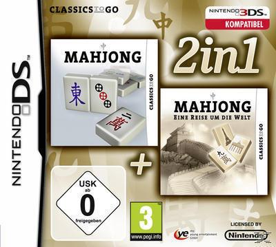 2 in 1: Mahjong 1 + 2 (Nintendo DS) für 28,96 Euro