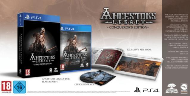 Ancestors Legacy - Conquerors Edition (PlayStation 4) für 39,96 Euro