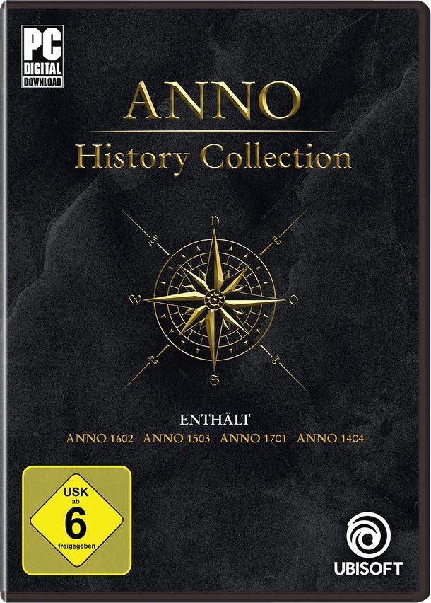 ANNO History Collection (PC) für 38,46 Euro