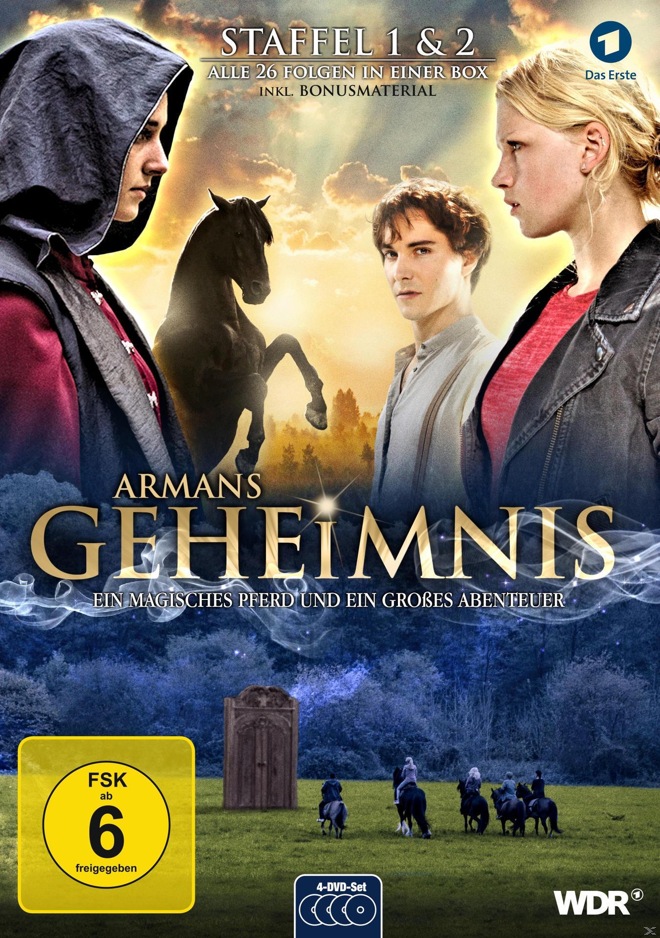 Armans Geheimnis - Staffel 1&2 - Die Collection DVD-Box (DVD) für 26,96 Euro