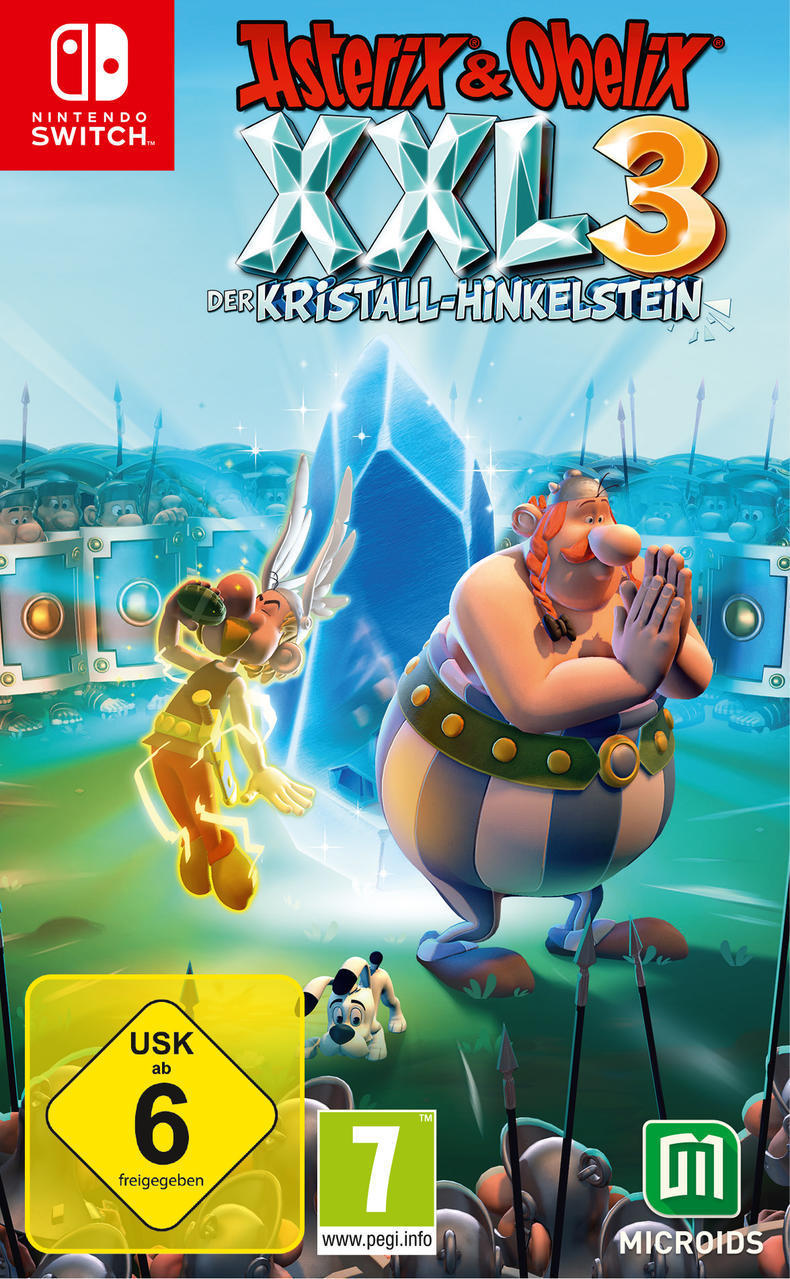 Asterix & Obelix XXL3: Der Kristall-Hinkelstein (Nintendo Switch) für 39,46 Euro