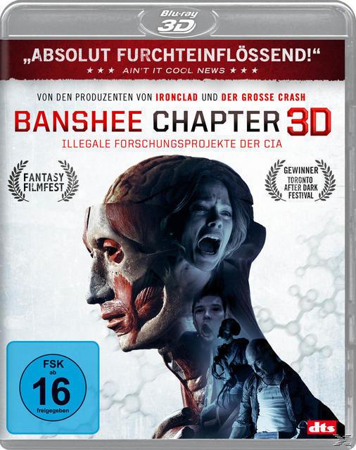 Banshee Chapter - Illegale Experimente der CIA (BLU-RAY 3D) für 17,46 Euro